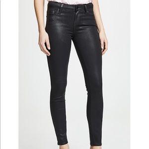 Joe's jeans black coated skinny ankle BRAND NEW